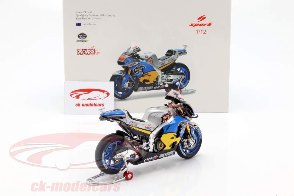 Jack Miller Honda RC213V #43 winner Dutch TT MotoGP 2016 1:12 Spark
