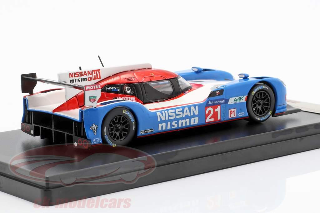 Nissan GT-R LM Nismo #21 24h LeMans 2015 Matsuda, Ordonez, Shulzhitskiy 1:43 Premium X