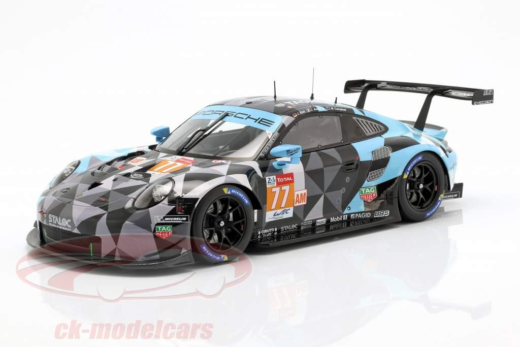 Porsche 911 RSR #77 Klassevinder LMGTE kl. 24h LeMans 2018 1:18 Spark