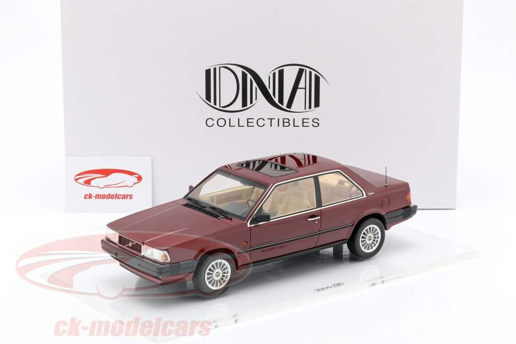 Volvo 780 anno di costruzione 1986 rosso metallico 1:18 DNA Collectibles
