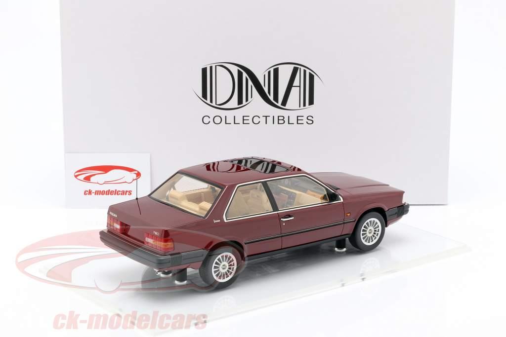 Volvo 780 Opførselsår 1986 rød metallisk 1:18 DNA Collectibles