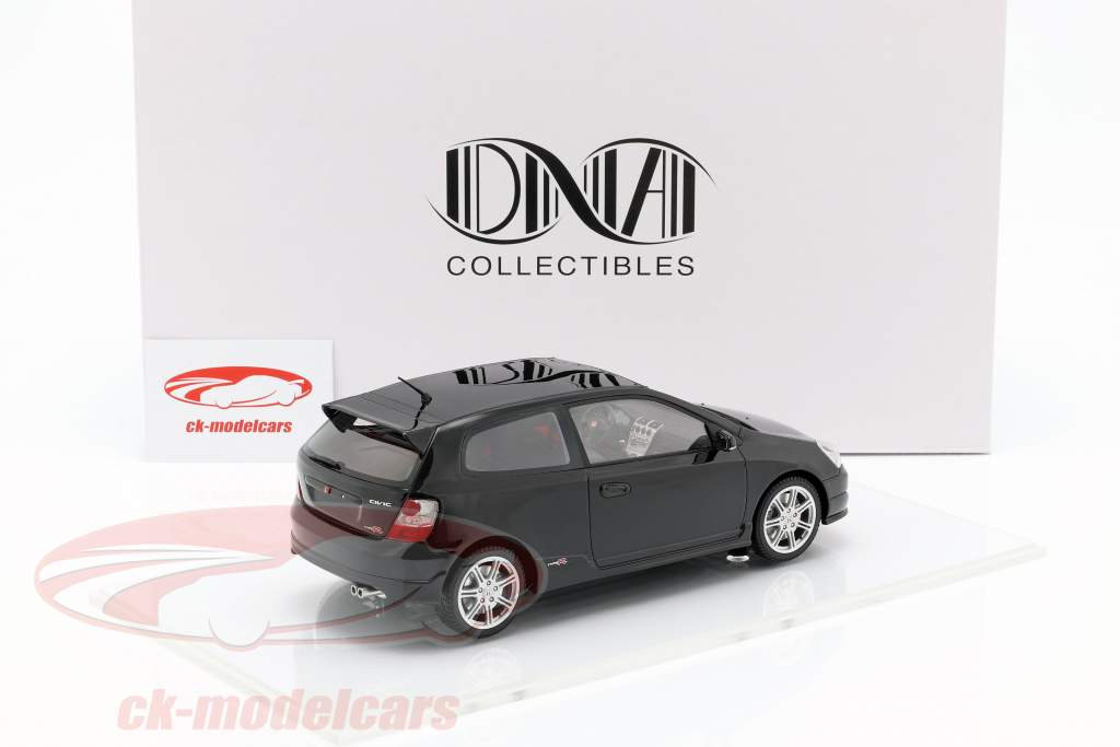 Honda Civic Type R EP3 année de construction 2004 noir 1:18 DNA Collectibles