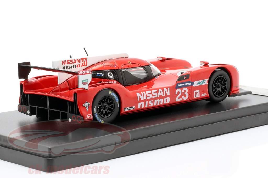 Nissan GT-R LM Nismo #23 24h LeMans 2015 Chilton, Mardenborough, Pla 1:43 Premium X