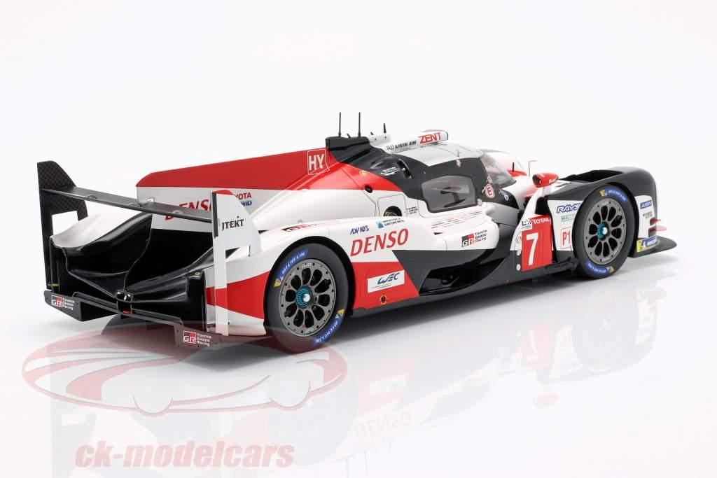 Toyota TS050 Hybrid #7 segundo 24h LeMans 2018 Conway, Kobayashi, Lopez 1:18 Spark