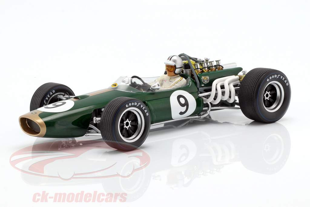Denis Hulme Brabham BT20 #9 Winner Monaco GP World Champion F1 1967 1:18 Spark