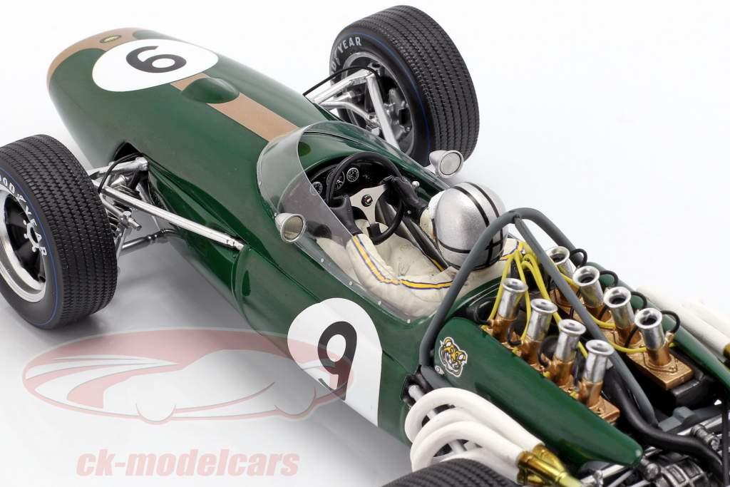 Denis Hulme Brabham BT20 #9 vencedor Monaco GP campeão do mundo F1 1967 1:18 Spark