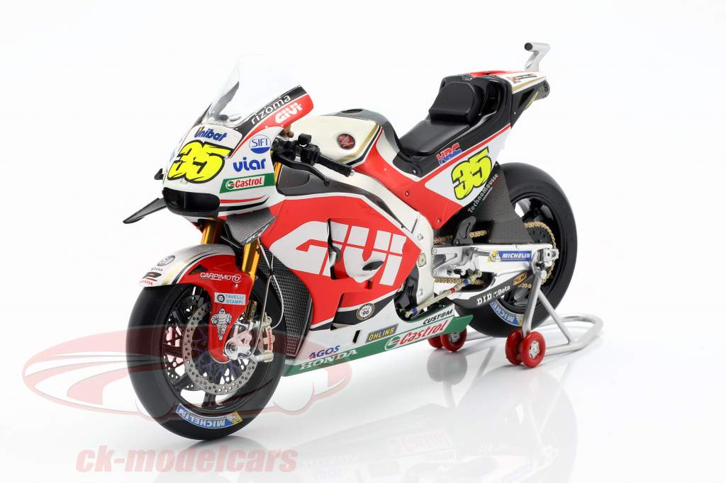 Cal Crutchlow Honda RC213V #35 ganador Chequia GP MotoGP 2016 1:12 Spark