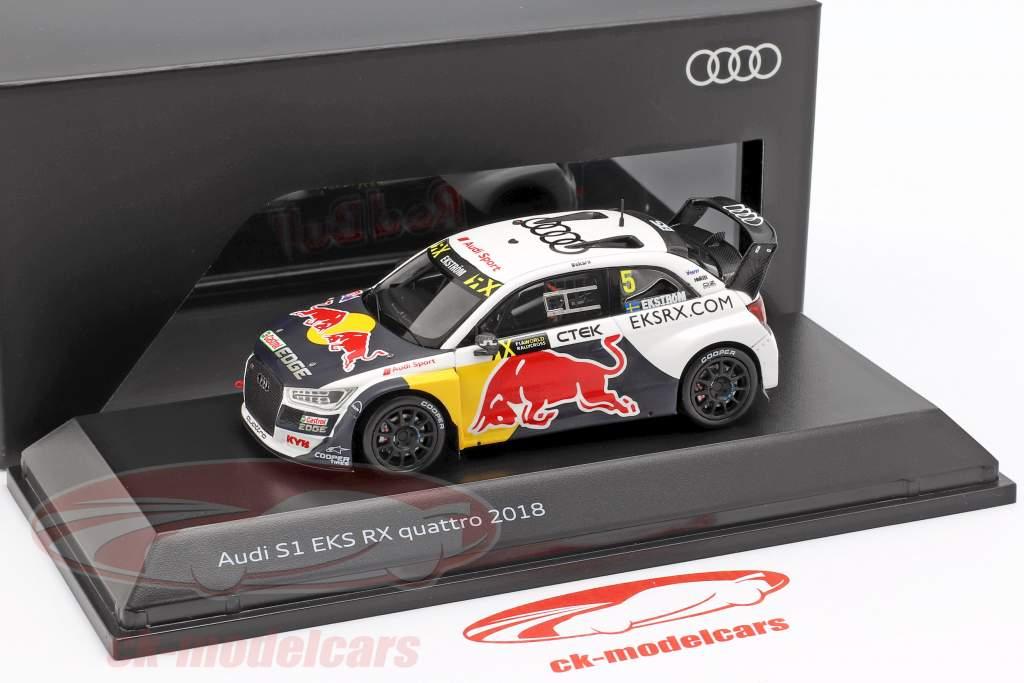 Audi S1 EKS RX quattro #5 WRX 2018 Matthias Ekström 1:43 Spark