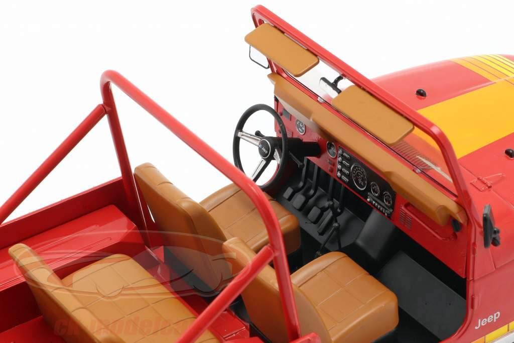 Jeep CJ-7 Renegade anno di costruzione 1976 rosso 1:18 Model Car Group