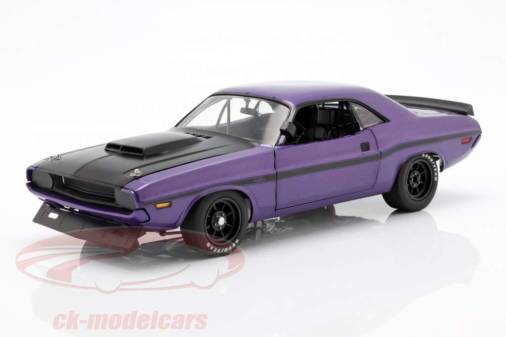 Dodge Challenger année de construction 1970 violet 1:18