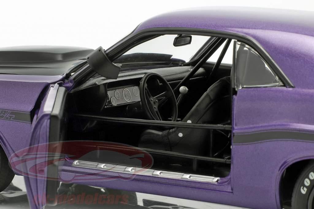 Dodge Challenger año de construcción 1970 violeta 1:18