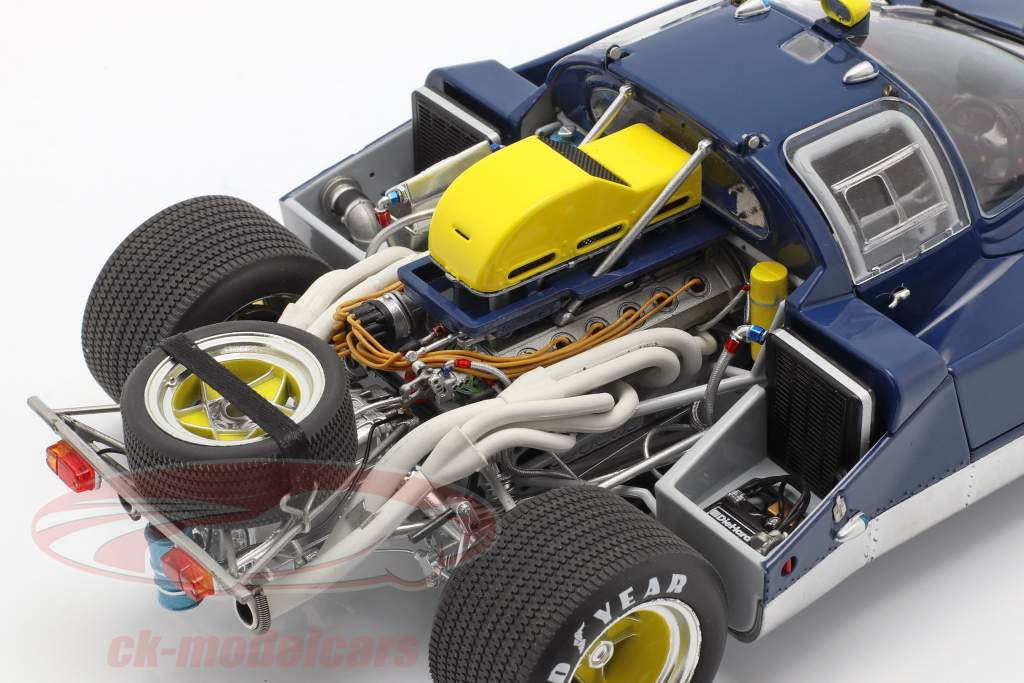 Ferrari 512M Provo Version 1971 blue / yellow 1:18 GMP