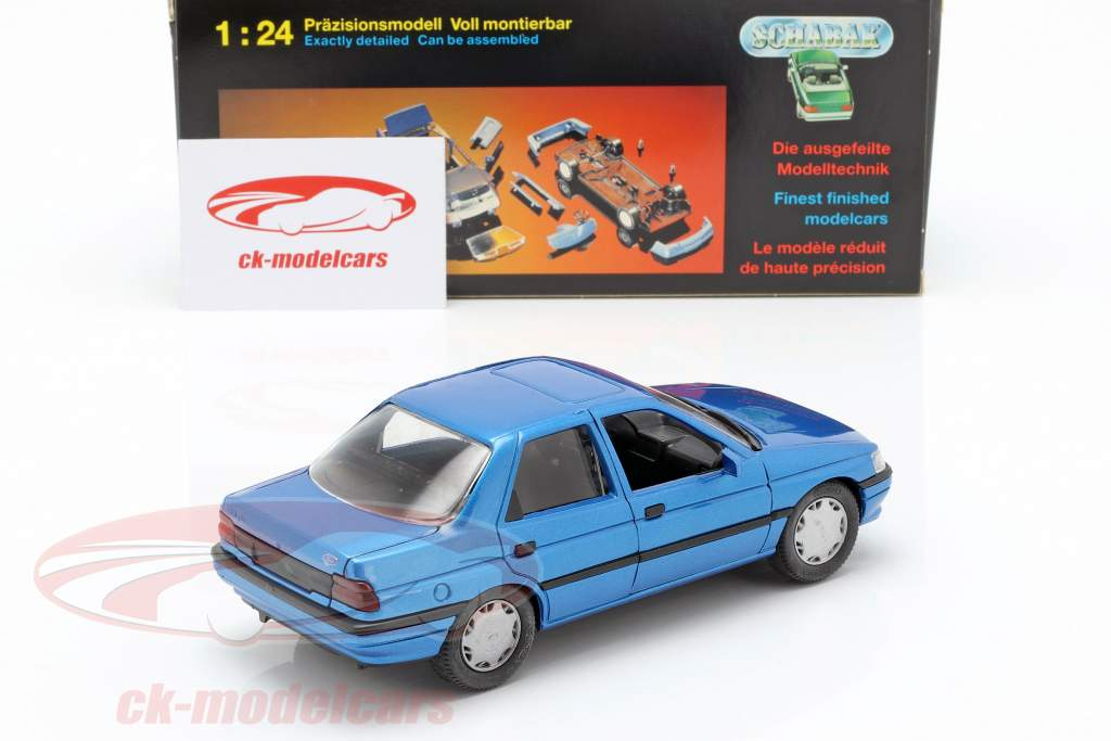 Ford Orion LHD blue 1:24 Schabak