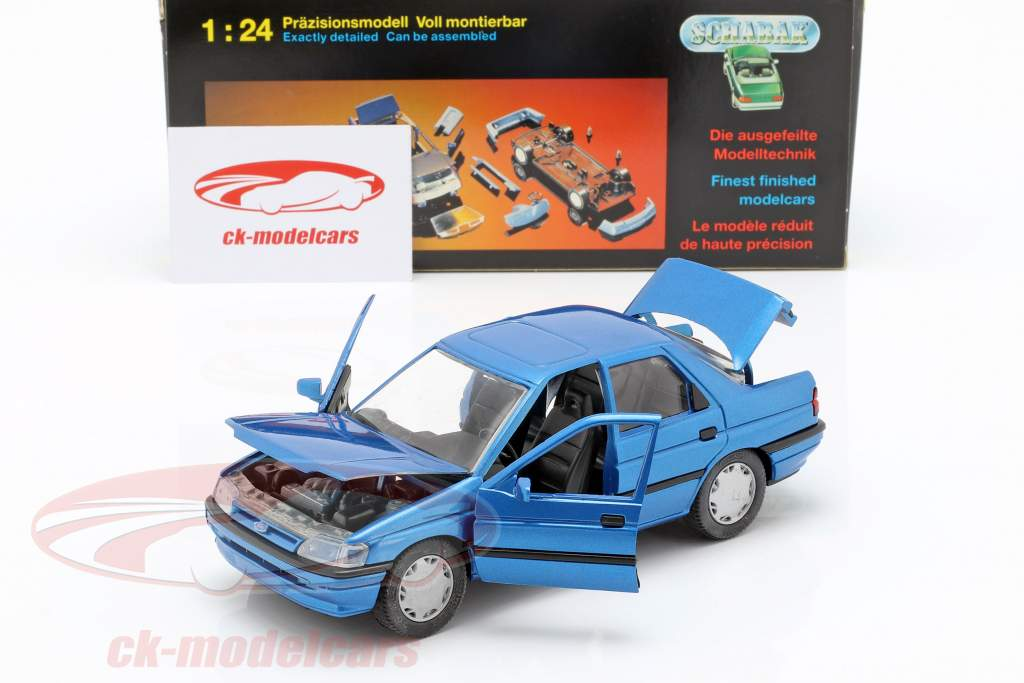 Ford Orion LHD azul 1:24 Schabak