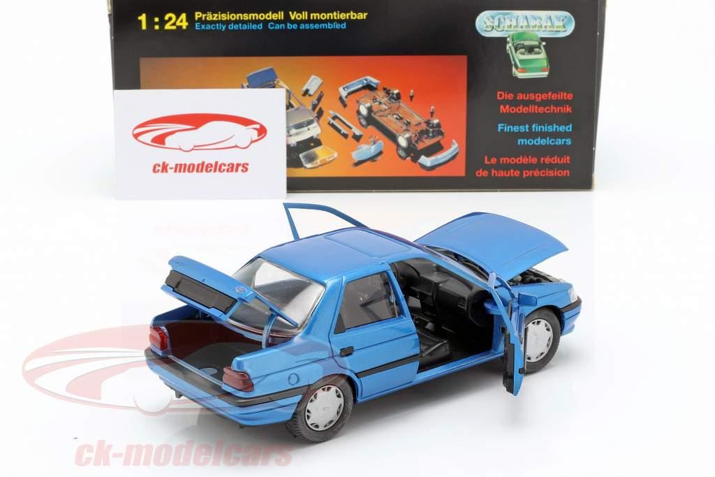 Ford Orion LHD blå 1:24 Schabak