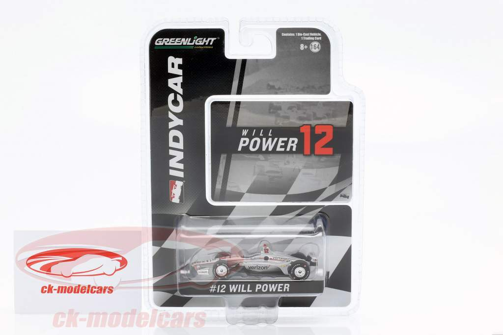Will Power Chevrolet #12 Indycar Series 2019 Team Penske 1:64 Greenlight