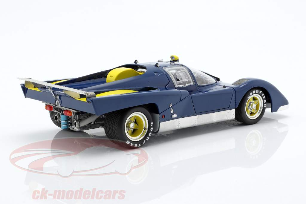 Ferrari 512M Provo Version 1971 blu / giallo 1:18 GMP