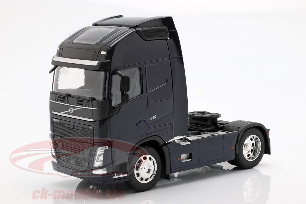 Volvo FH (4x2) Traktor Opførselsår 2016 mørkeblå 1:32 Welly