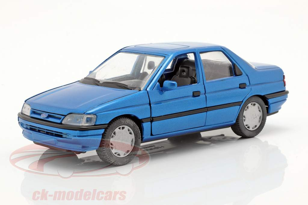 Ford Orion LHD bleu 1:24 Schabak