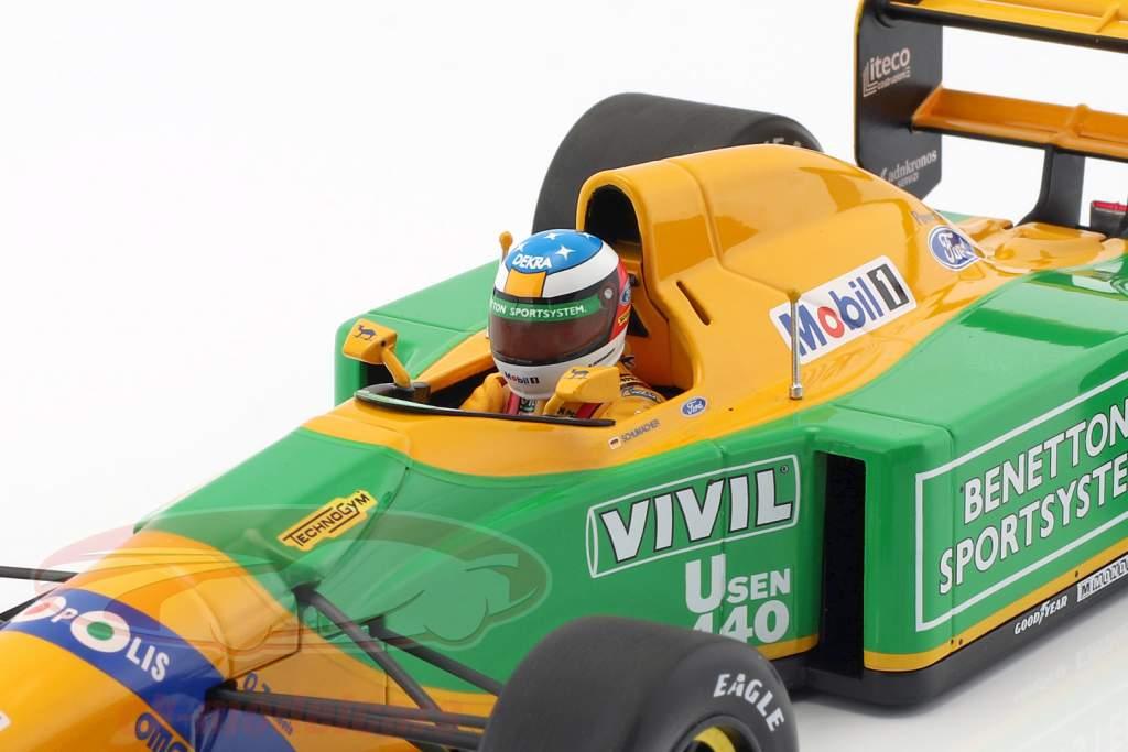 Michael Schumacher Benetton B192 #19 3rd Italy GP F1 1992 1:18 Minichamps