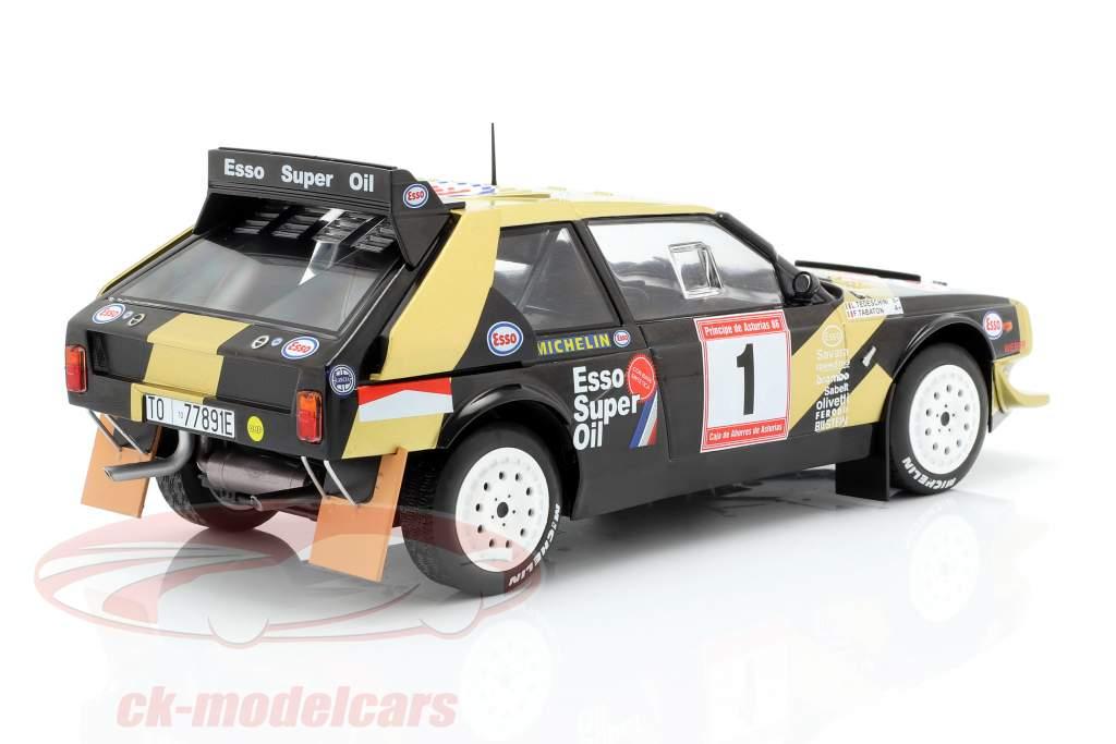 Lancia Delta S4 #1 Vinder Rallye de Asturias 1986 Tabaton, Tedeschini 1:18 Solido