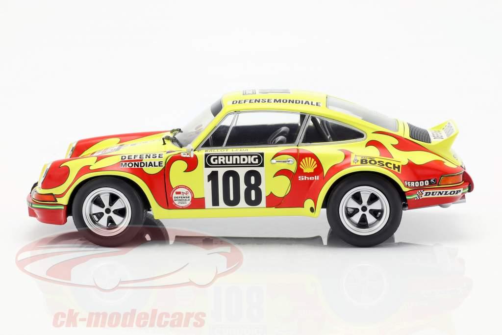 Porsche 911 Carrera RSR #108 Rallye Tour de France 1973 Ballot-Lena, Morenas 1:18 Solido