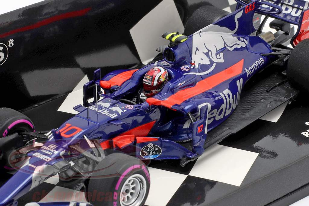 Pierre Gasly Toro Rosso STR12 #10 messicano GP formula 1 2017 1:43 Minichamps
