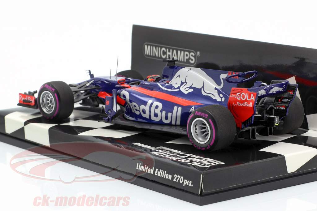 Brendon Hartley Toro Rosso STR12 #28 mexicain GP formule 1 2017 1:43 Minichamps