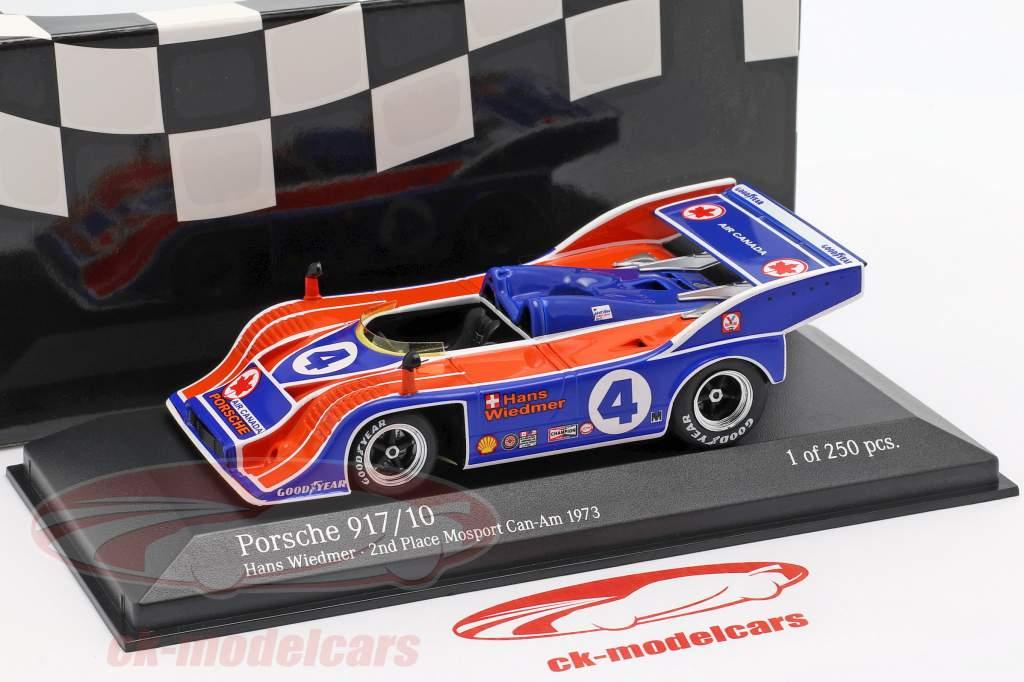 Porsche 917/10 #4 2e Mosport Can-Am 1973 Hans Wiedmer 1:43 Minichamps