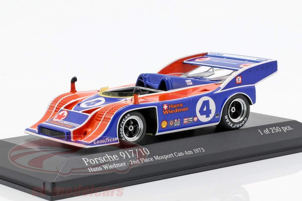 Porsche 917/10 #4 2nd Mosport Can-Am 1973 Hans Wiedmer 1:43 Minichamps