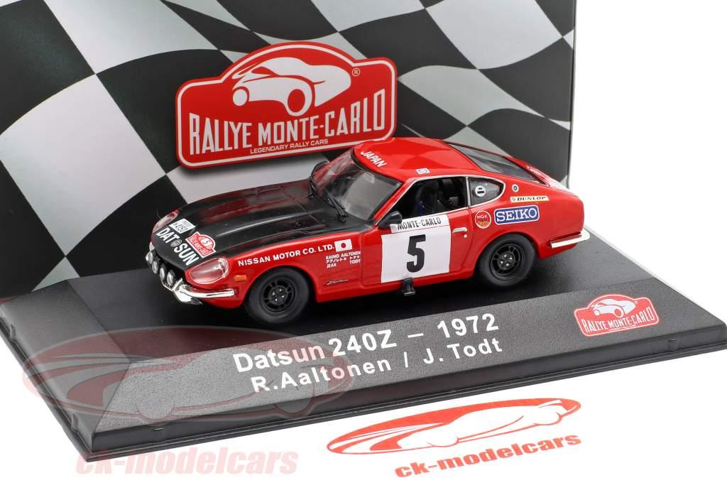 Datsun 240Z #5 3ª Rallye Monte Carlo 1972 Aaltonen, Todt 1:43 Atlas