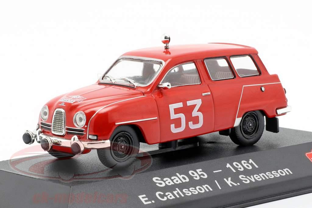Saab 95 #53 4. Rallye Monte Carlo 1961 Carlsson, Svensson 1:43 Atlas