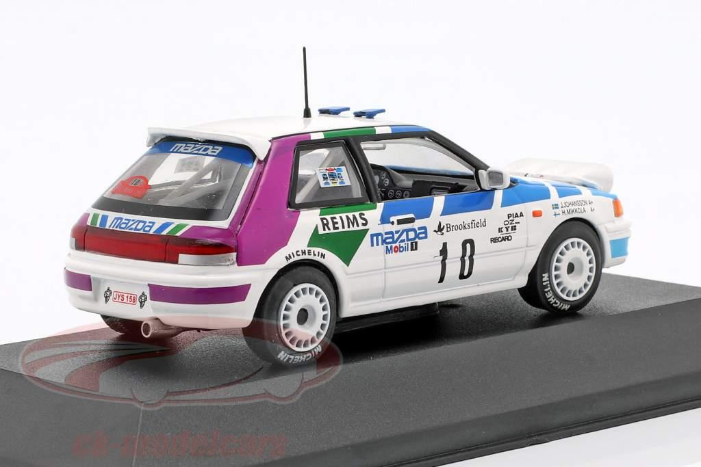 Mazda 323 GTX #10 Rallye Monte Carlo 1991 Mikkola, Johansson 1:43 Atlas