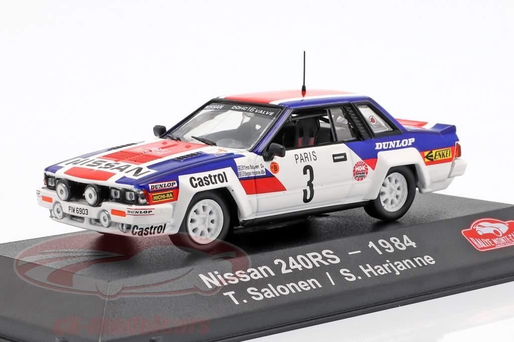 Nissan 240 RS #3 Rallye Monte Carlo 1984 Salonen, Harjanne 1:43 Atlas
