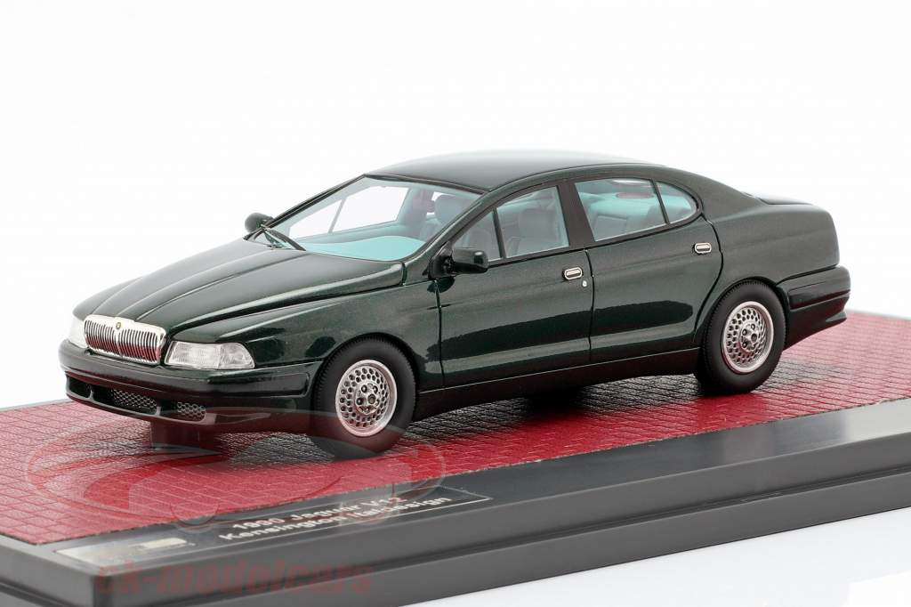 Jaguar V12 Kensington Italdesign Concept Baujahr 1990 dunkelgrün metallic 1:43 Matrix