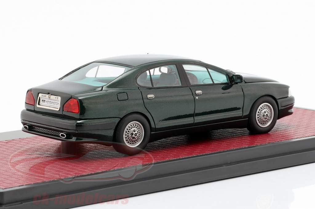 Jaguar V12 Kensington Italdesign Concept année de construction 1990 vert foncé métallique 1:43 Matrix