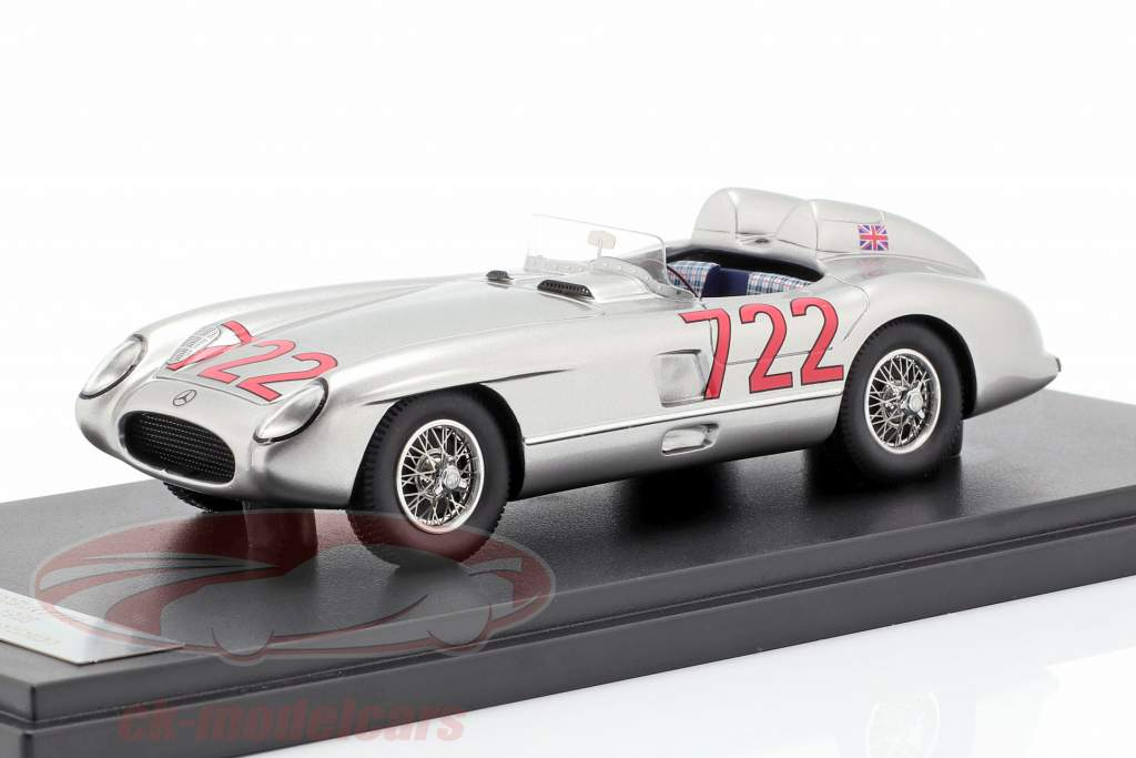 Mercedes-Benz 300 SLR #722 gagnant Mille Miglia 1955 Moss, Jenkinson 1:43 Matrix