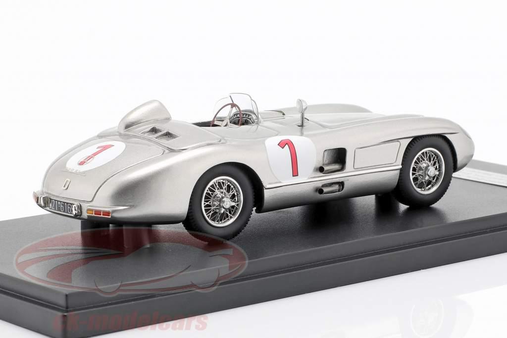 Mercedes-Benz 300 SLR #1 vincitore Svezia GP 1955 Juan Manuel Fangio 1:43 Matrix
