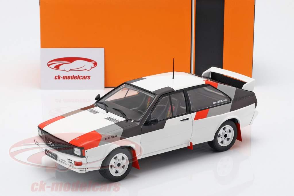 Audi Quattro groep B Rallye 1982 wit 1:18 Ixo