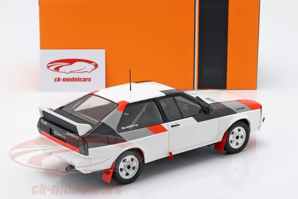 Audi Quattro grupo B Rallye 1982 branco 1:18 Ixo