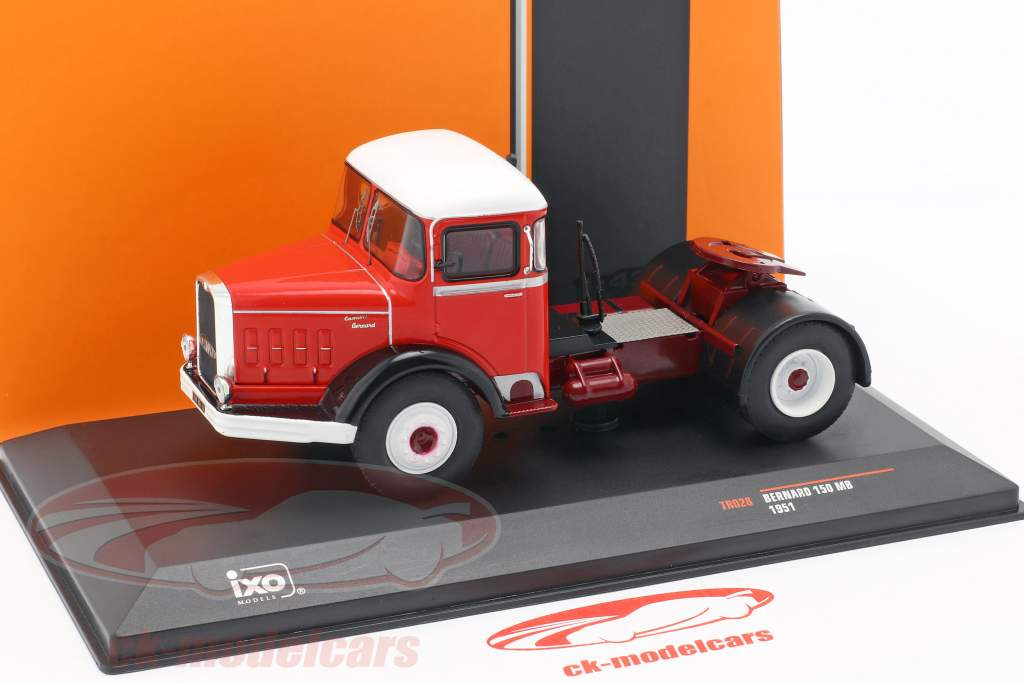 Bernard 150 MB Truck year 1951 red / white 1:43 Ixo