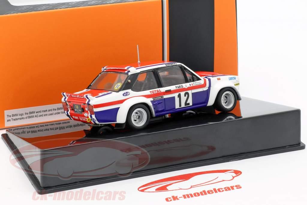 Fiat 131 Abarth #12 7 Rallye Monte Carlo 1979 Mouton, Conconi 1:43 Ixo