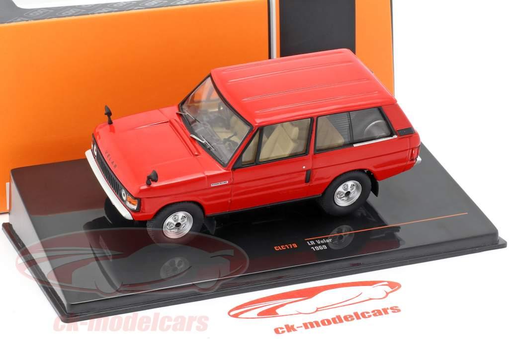Land Rover Velar anno di costruzione 1969 rosso 1:43 Ixo