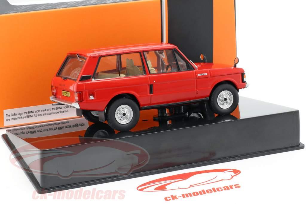 Land Rover Velar année de construction 1969 rouge 1:43 Ixo