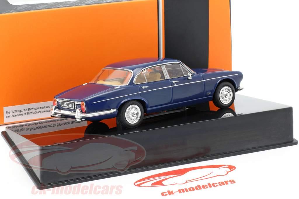Jaguar XJ MK I RHD ano de construção 1972 azul escuro 1:43 Ixo