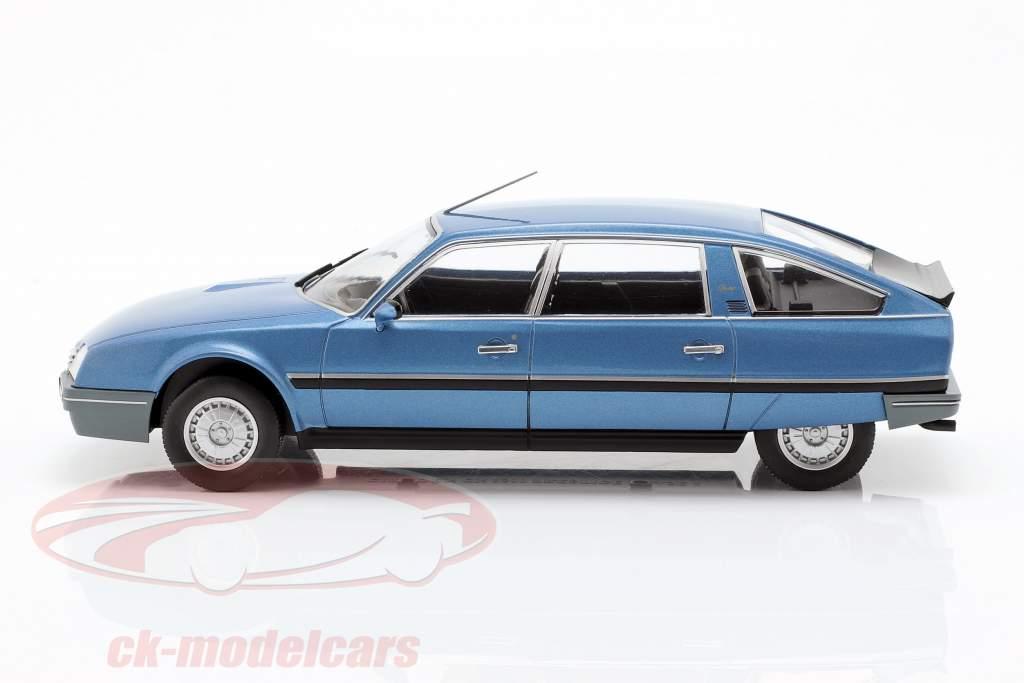 Citroen CX 2500 Prestige Phase 2 année de construction 1986 bleu métallique 1:24 WhiteBox