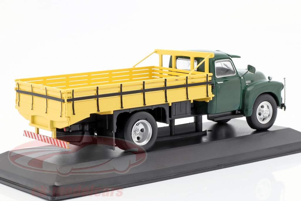 Chevrolet 6400 camion plate-forme année de construction 1949 vert / jaune 1:43 WhiteBox
