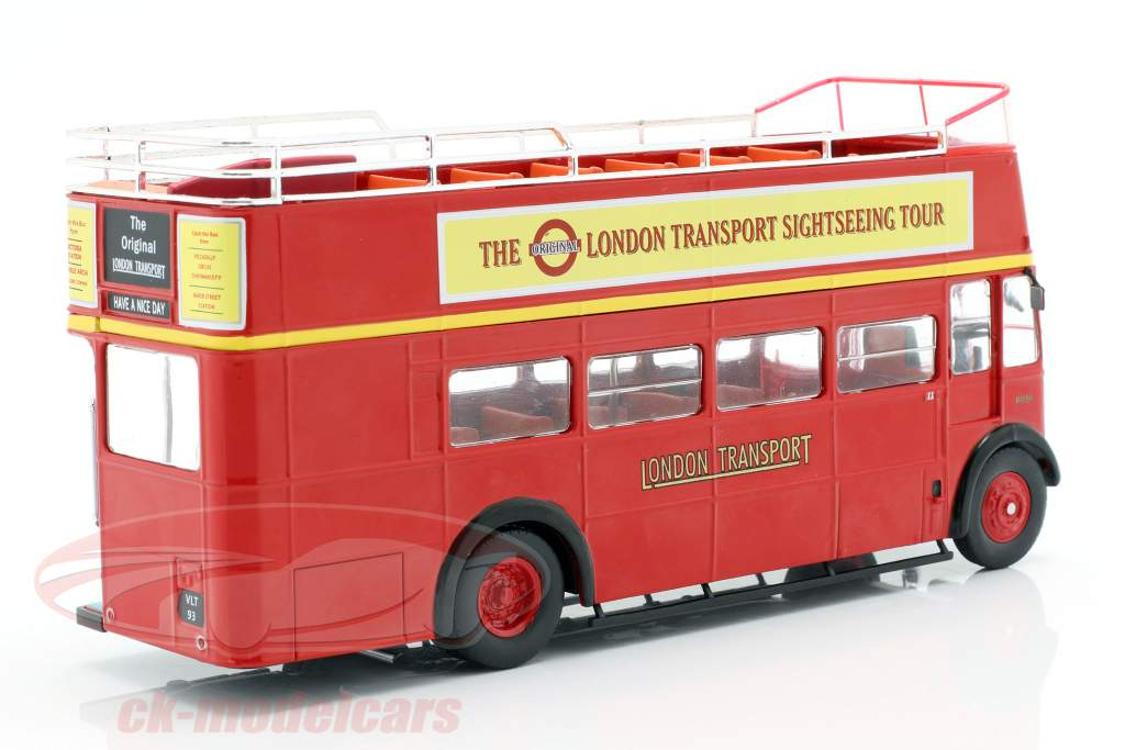 AEC Regent RT Open Top London Sightseeing año de construcción 1950 rojo 1:43 Ixo