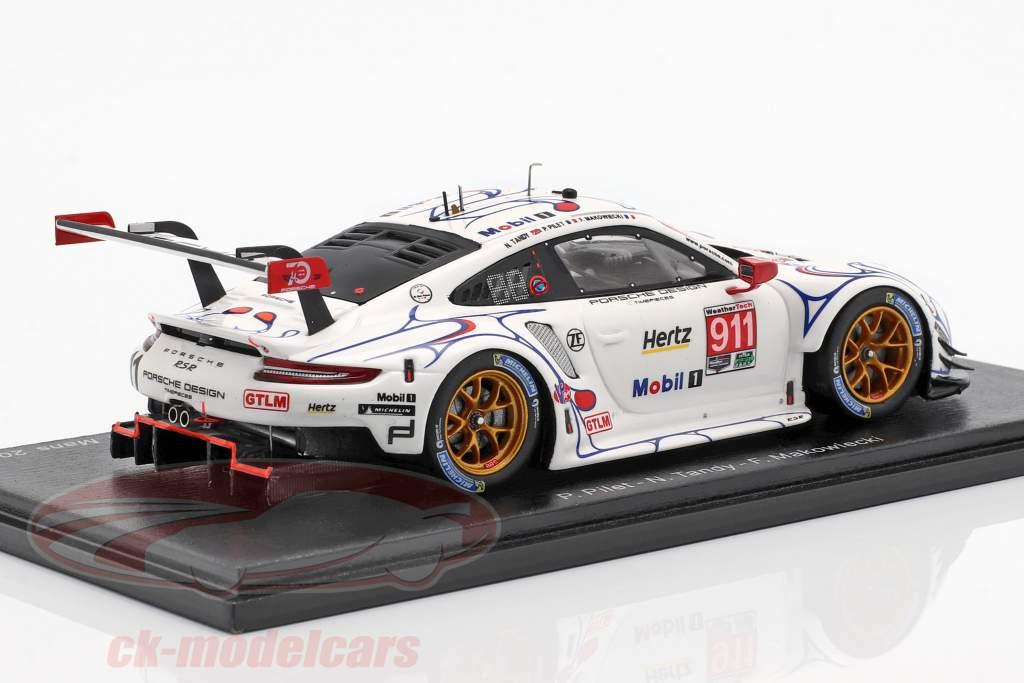 Porsche 911 RSR #911 Class Winner Petit LeMans 2018 Porsche GT Team 1:43 Spark