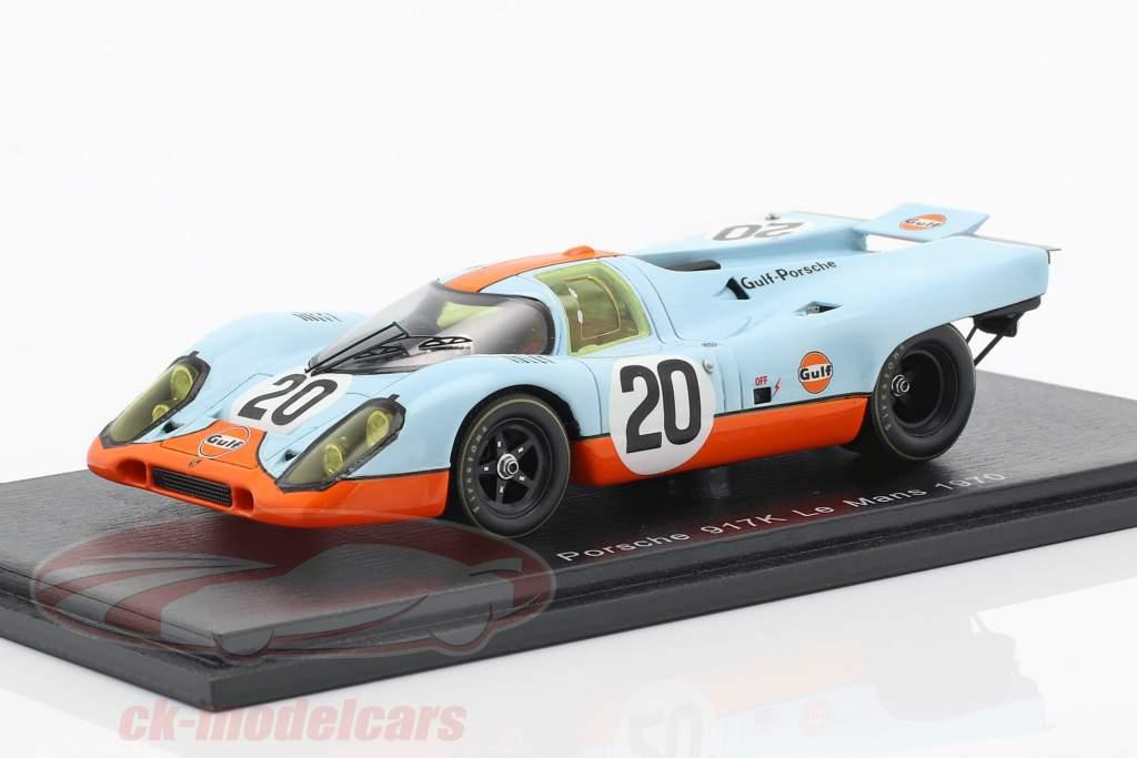 Porsche 917K #20 24h LeMans 1970 Siffert, Redman 1:43 Spark